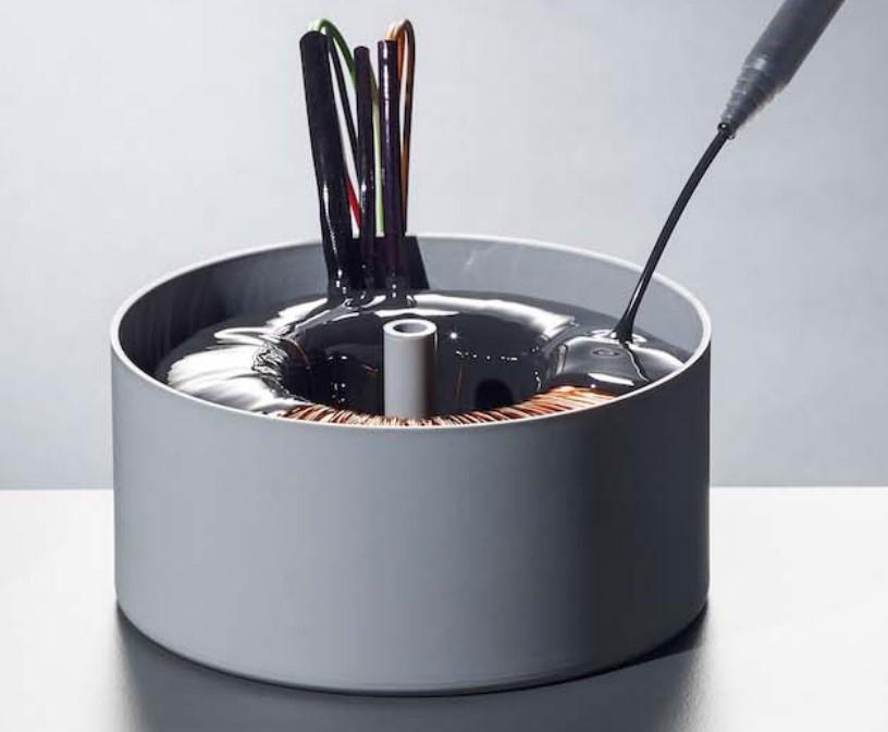808AB-L高温固化耐高温电子灌封胶 环氧灌封胶耐电压 高压包灌封料加热固化胶水