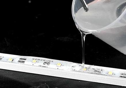 808AB-T-3H抗黄变环氧灌封胶 电子灌封料密封保护 LED灯条模组元器件封装
