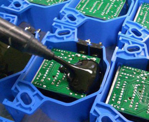 808AB-DH-G耐高温导热环氧灌封胶 TG120度高导热电子灌封胶 常温固化环氧密封胶水